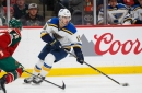 Who will center the Blues' lines to start the season?