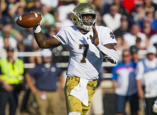 Vorel: Notre Dame offense needs balance to build on Boston College win