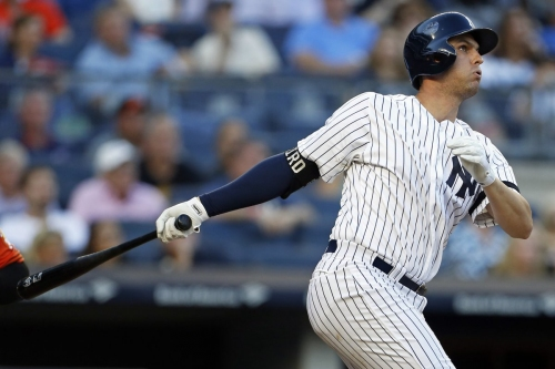Greg Bird showing why Yankees didn't trade for first baseman