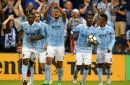 Rubio and Gerso tally in rally as Sporting Kansas City stay in MLS West title hunt