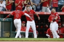 Angels' Phillips sidelined, so Trout leads off for first time since 2013