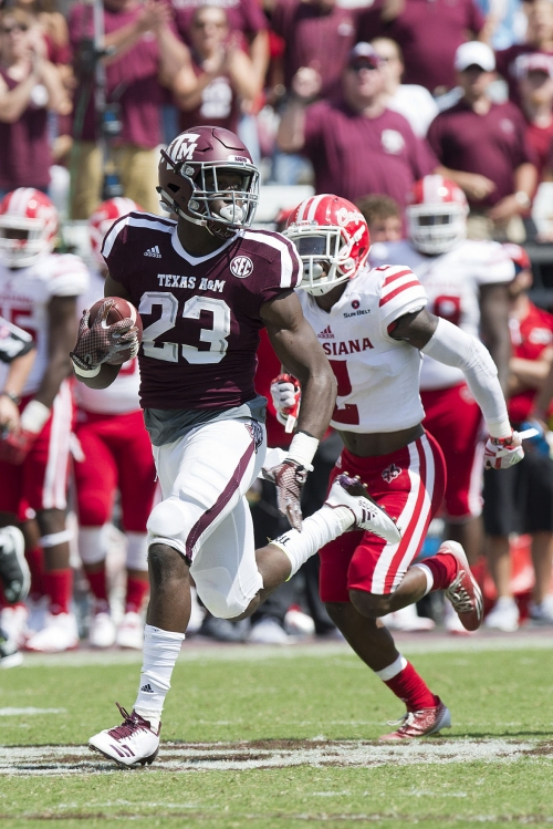 Halftime moves get Aggies going in right direction