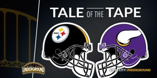 Tale of the Tape: Pittsburgh Steelers (1-0) vs. Minnesota Vikings (1-0)