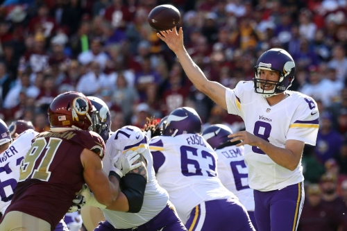 The Vikings' overhauled offensive line will have their hands full with the Steelers in Week 2