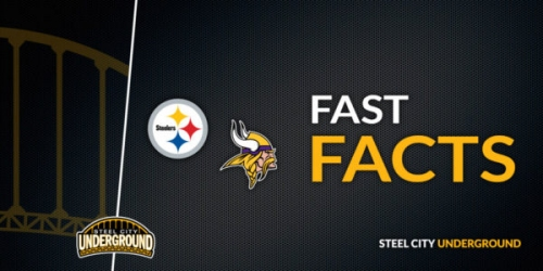 Fast Facts: Pittsburgh Steelers (1-0) vs. Minnesota Vikings (1-0)