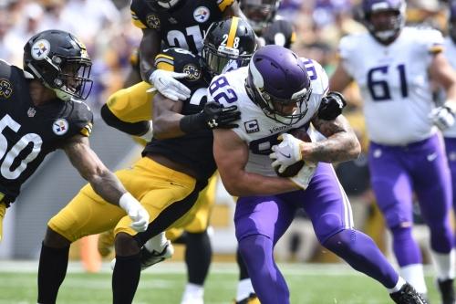 Steelers vs. Vikings Week 2: 3rd quarter in-game update
