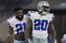 Dallas Cowboys @ Denver Broncos: Darren McFadden inactive; Noah Brown and Ronald Leary active