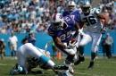 Buffalo Bills offensive line, LeSean McCoy no-show against Carolina Panthers