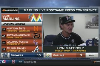 Don Mattingly: We just didn't make the plays today