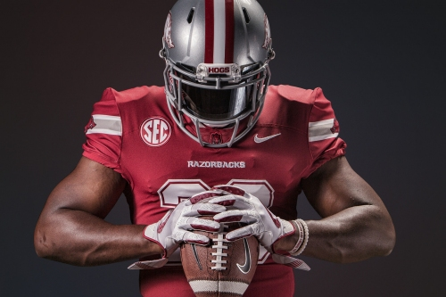 Hogs Get Some Cowboys Style Jerseys for Game in Dallas