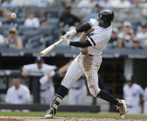 Didi Gregorius ties Yanks single-season homer record by shortstop
