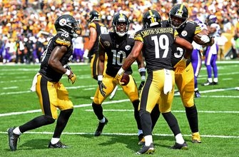 The Steelers busted out a must-see 'roll the dice' TD celebration against the Vikings