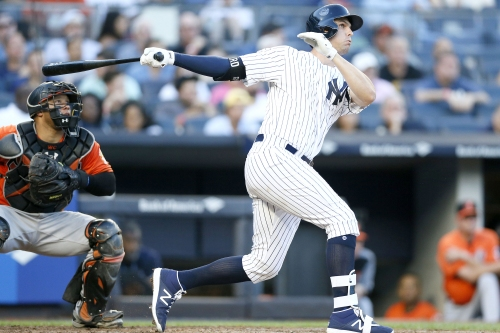 Bird and 'barrel accuracy' leading to emerging Yankees triple threat