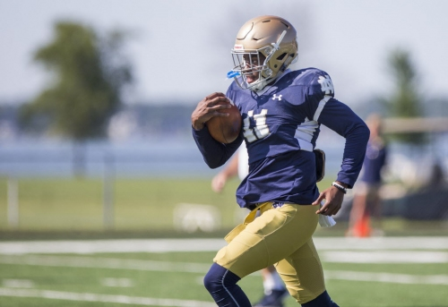 Notre Dame WR Freddy Canteen set for surgery, out for the rest of the season