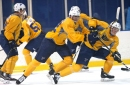 Tage is the rage at Blues' scrimmage
