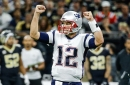 Patriots-Saints: Tom Brady had a top 5 game for an old quarterback