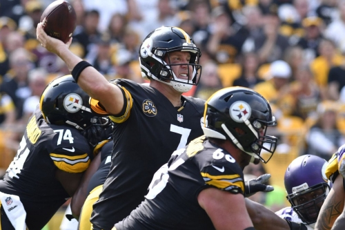 Steelers offense still a work-in-progress after 26-9 romp over the Vikings
