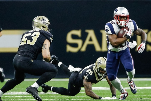 Patriots offense is spreading the football better than any other team in the league