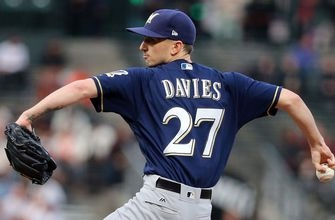 Brewers' pitching staff keeps getting better