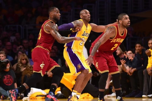 Kyrie Irving takes Kobe Bryant over LeBron James on a shady Monday