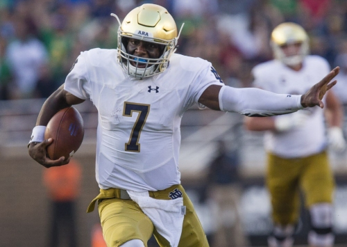 Podcast: Mike Vorel wraps up Notre Dame's 49-20 win over Boston College