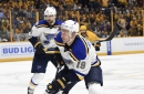 Jay Bouwmeester injured during Sunday's training camp session