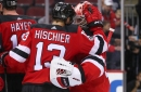 New Jersey Devils Defeat Washington Capitals 4-1 in a Game of Whistles and Wow