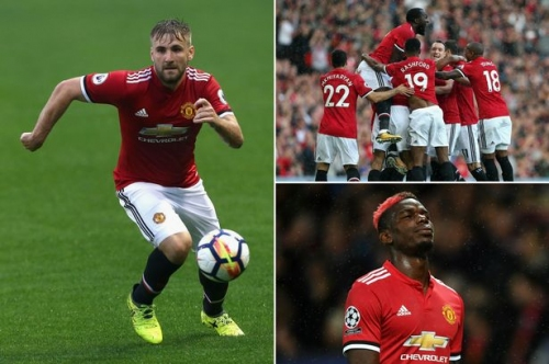 Manchester United news and transfer rumours LIVE Luke Shaw and Paul Pogba updates