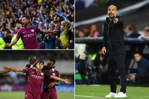 Man City news and transfer rumours LIVE Sergio Aguero and Brahim Diaz updates