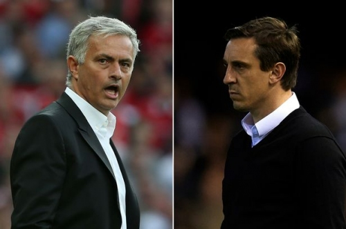 Manchester United legend Gary Neville names the player who has rescued Jose Mourinho