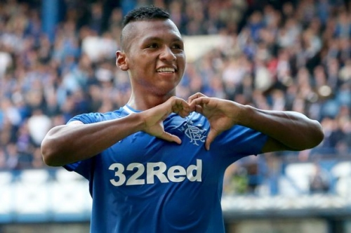 Rangers boss Pedro Caixinha discusses the interest in Aston Villa-linked Alfred Morelos
