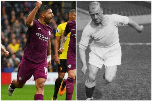 Sergio Aguero's Manchester City kit might have been Eric Brook's biggest problem with him