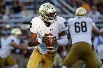 Kelly shrugs off concerns about Notre Dame mild pass attack