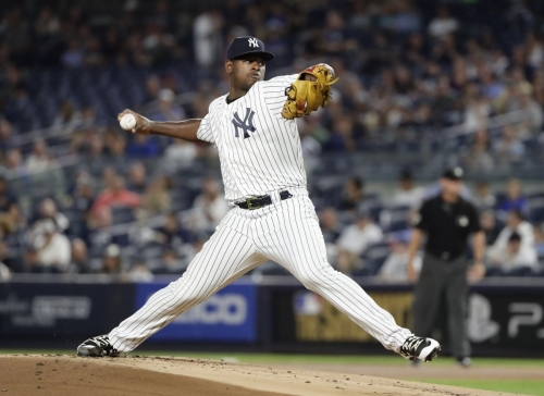 Luis Severino will now pitch Wednesday for Yankees vs. Twins