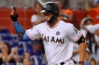 Marlins slugger Giancarlo Stanton needs one last power surge to reach 61
