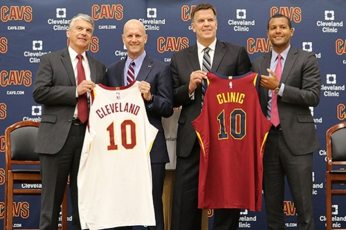 Cavs announce multi-year extension of Cleveland Clinic partnership
