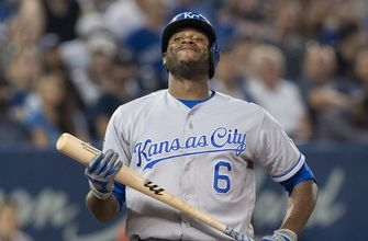 Royals hit historic homer but can't beat Blue Jays