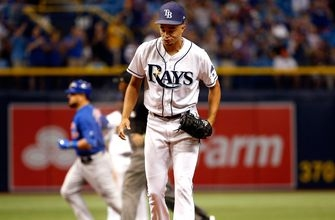 Rays manage one lone run, come up short in series-opening loss to Cubs