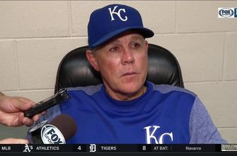 Yost on Royals near end of season: 'They're fighting their tails off'