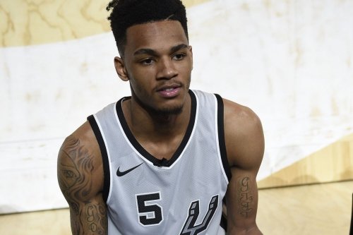 Dejounte Murray got birthday wishes from a LeBron James