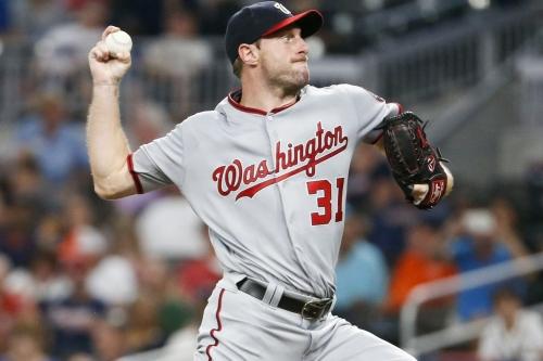 Washington Nationals 4-2 over Atlanta Braves in SunTrust: Max Scherzer much better this time out...
