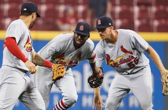 Fowler fuels Cardinals' grind-out win over Reds