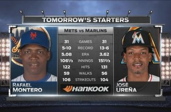 Jose Urena aims to continue strong September in matinee vs. Mets