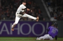 Hunter Pence delivers twice for Giants in win over Rockies