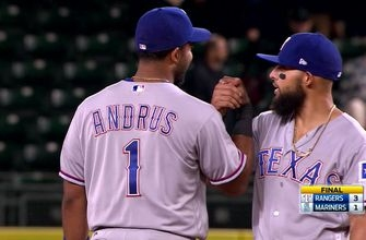 Rangers finish off the Mariners with a 1-2-3 ninth inning