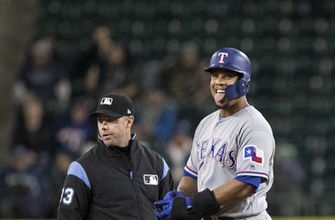 Rangers score twice in 8th inning for 3-1 win over Mariners (Sep 19, 2017)