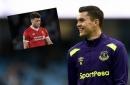 Everton's Michael Keane 'likes' tweet mocking Liverpool's Alex Oxlade-Chamberlain
