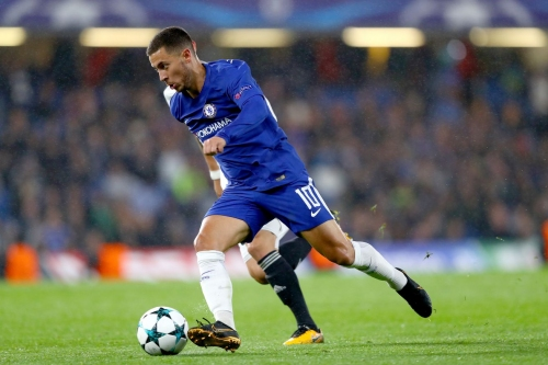 Hazard knows Conte's system so well by now, he could play with his eyes closed