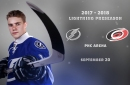 Quick Strikes: Tampa Bay Lightning preseason game #2 is at PNC Arena tonight
