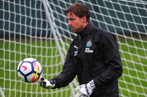 Tim Krul is fully fit but ineligible to face his Newcastle United this weekend